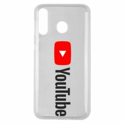 Чехол для Samsung M30 Youtube logotype
