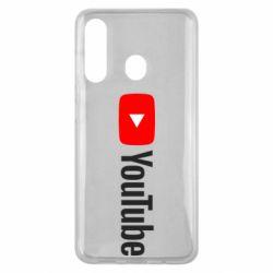 Чехол для Samsung M40 Youtube logotype