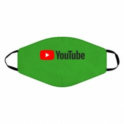 Маска для лица Youtube logotype