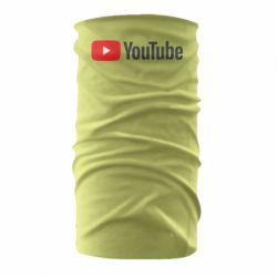 Бандана-труба Youtube logotype