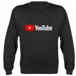Реглан (свитшот) Youtube logotype