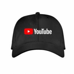 Детская кепка Youtube logotype