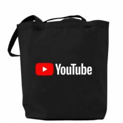 Сумка Youtube logotype