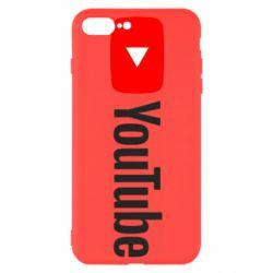 Чехол для iPhone 7 Plus Youtube logotype