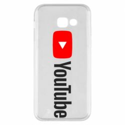 Чехол для Samsung A5 2017 Youtube logotype