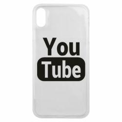 Чохол для iPhone Xs Max Youtube vertical logo