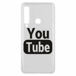 Чохол для Samsung A9 2018 Youtube vertical logo