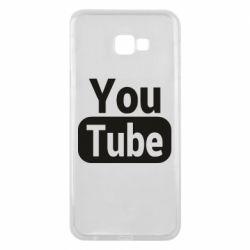 Чохол для Samsung J4 Plus 2018 Youtube vertical logo