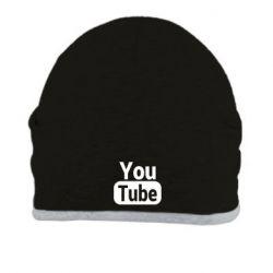 Шапка Youtube vertical logo