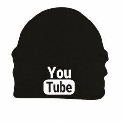 Шапка на флісі Youtube vertical logo
