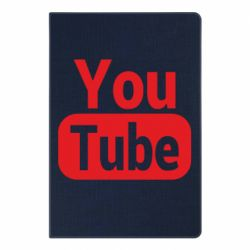 Блокнот А5 Youtube vertical logo