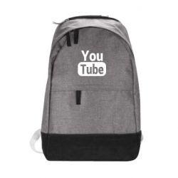 Рюкзак міський Youtube vertical logo