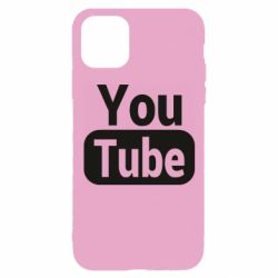 Чохол для iPhone 11 Pro Youtube vertical logo