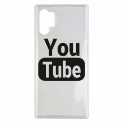 Чохол для Samsung Note 10 Plus Youtube vertical logo