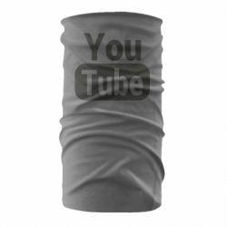 Бандана-труба Youtube vertical logo