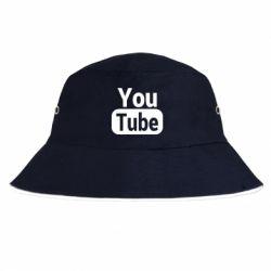 Панама Youtube vertical logo