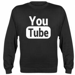 Реглан (світшот) Youtube vertical logo