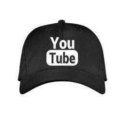 Дитяча кепка Youtube vertical logo