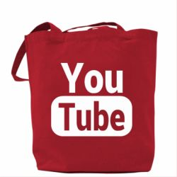 Сумка Youtube vertical logo