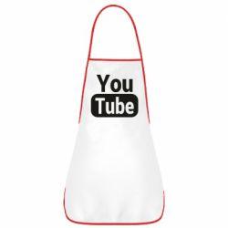 Фартух Youtube vertical logo