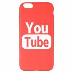 Чохол для iPhone 6 Plus/6S Plus Youtube vertical logo