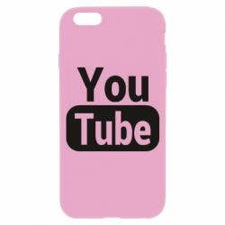 Чохол для iPhone 6/6S Youtube vertical logo