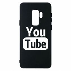 Чохол для Samsung S9+ Youtube vertical logo