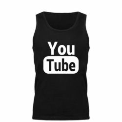 Майка чоловіча Youtube vertical logo