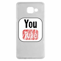 Чохол для Samsung A5 2016 YouTube