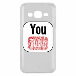 Чохол для Samsung J2 2015 YouTube