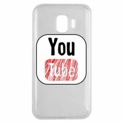Чохол для Samsung J2 2018 YouTube
