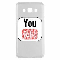 Чохол для Samsung J5 2016 YouTube