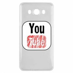 Чохол для Samsung J7 2016 YouTube