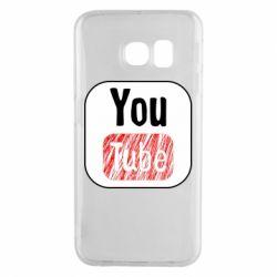 Чохол для Samsung S6 EDGE YouTube