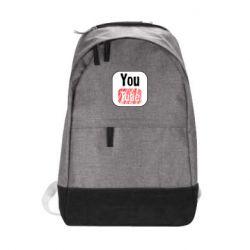 Рюкзак міський YouTube