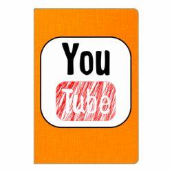 Блокнот А5 YouTube