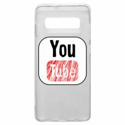 Чохол для Samsung S10+ YouTube