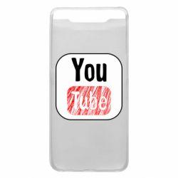 Чохол для Samsung A80 YouTube