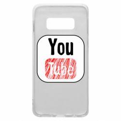 Чохол для Samsung S10e YouTube