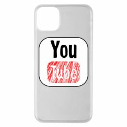 Чохол для iPhone 11 Pro Max YouTube