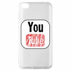 Чохол для Xiaomi Redmi Go YouTube