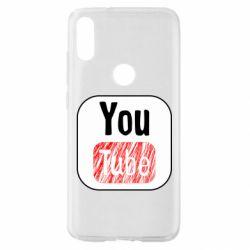 Чохол для Xiaomi Mi Play YouTube