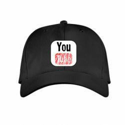 Дитяча кепка YouTube