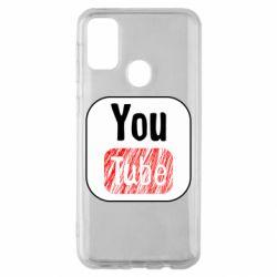 Чохол для Samsung M30s YouTube