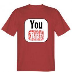 Чоловіча футболка YouTube