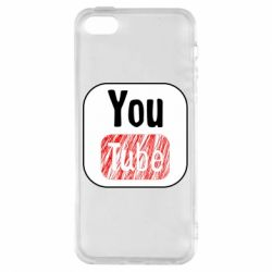 Чохол для iphone 5/5S/SE YouTube