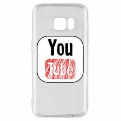 Чохол для Samsung S7 YouTube
