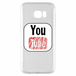 Чохол для Samsung S7 EDGE YouTube