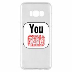 Чохол для Samsung S8 YouTube