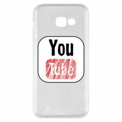 Чохол для Samsung A5 2017 YouTube